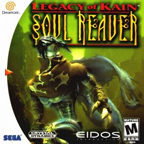 Legacy Of Kain Soul Reaver Dreamcast Game