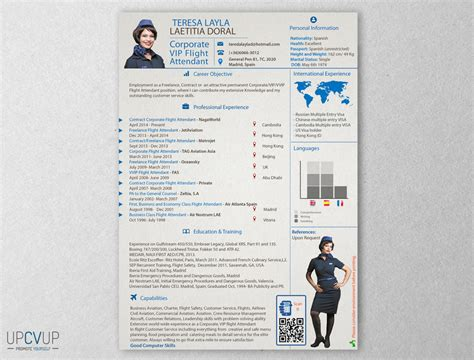 corporate vip flight attendant resume upcvup