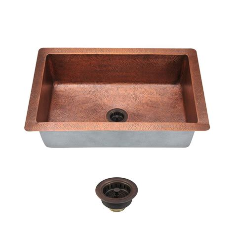 mr direct kitchen sinks reviews mr direct all in one undermount copper 33 in single bowl 7049