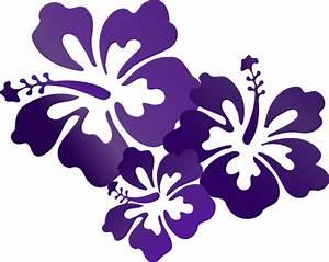 Hibiscus Flowers Clip Art at Clker.com - vector clip art ...