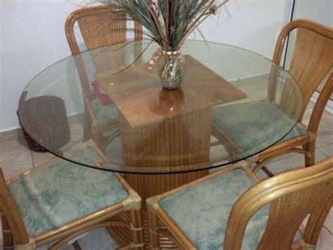juego de comedor en rattan muebles electrodomesticos