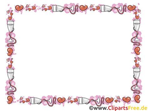 cliparts rahmen liebe hochzeit romantik