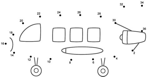 Connect The Dots, Count By 2's (Transportation