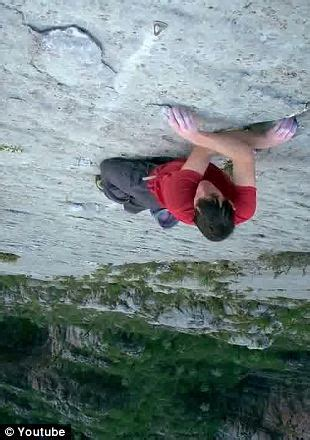 Who Needs Ropes Fearless Free Climber Clutches His