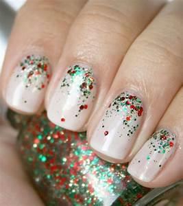 Best glitter nail art design ideas