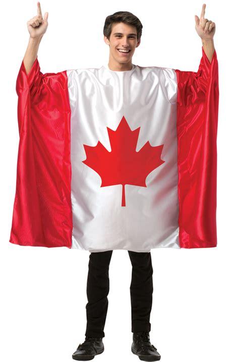 canada flag tunic adult costume purecostumescom