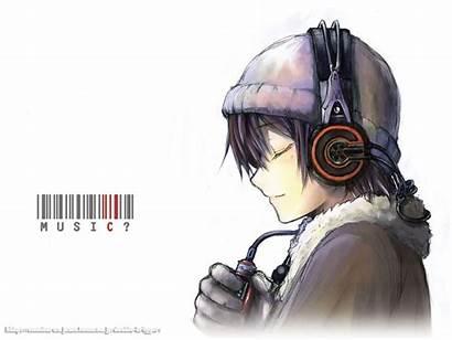 Anime Guy Wallpapers Headphones Boy