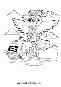 Ausmalbilder Piraten Papagei Piraten Malvorlagen Ausmalen