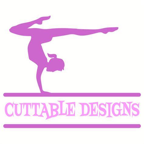 gymnastics  cuttable frames