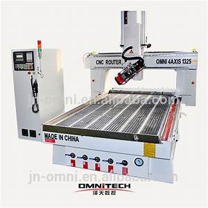 Alibaba hobby 2014 new omni 4 axis multicam cnc router for