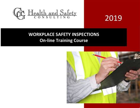 workplace safety inspection training  bc
