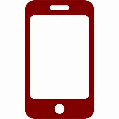 Phone Icon Maroon Icons Custom 32x32 Iconsdb
