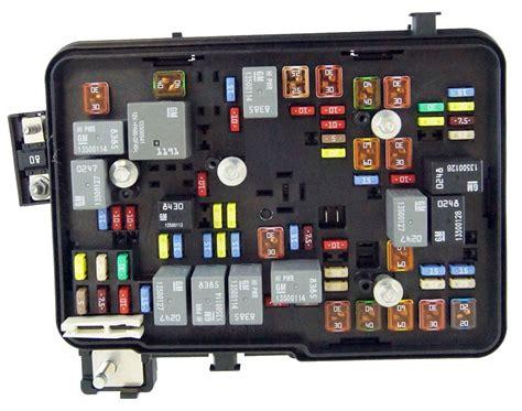 Gmc Topkick Fuse Box by 2011 2012 Gmc Terrain Equinox 2 4l Engine Compartment Fuse