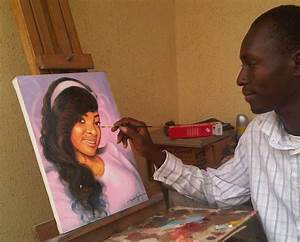 where to book portrait painting oil on canvas art in lagos ...