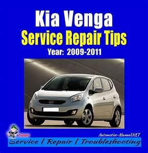 Kia Venga Service Repair Manual 2009