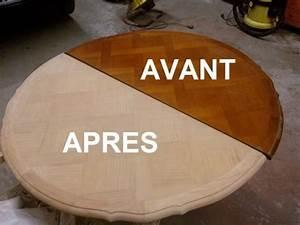 Comment Décaper Un Meuble Vernis En Chene : r nover une table en bois relooker meubles ~ Premium-room.com Idées de Décoration