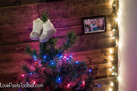 Christmas Gender Reveal  Love, Pasta, And A Tool Belt