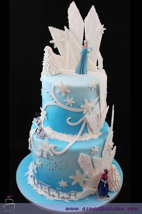 frozen birthday cake  sweet passion diafores toyrtes