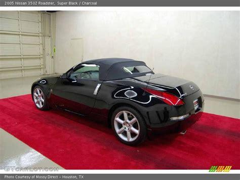 2005 Nissan 350z Roadster In Super Black Photo No. 1458048