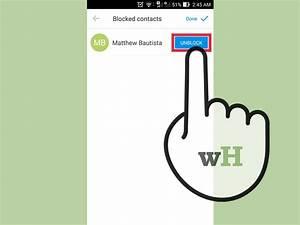 Comment Débloquer Un Contact : comment bloquer et d bloquer un contact sur ~ Maxctalentgroup.com Avis de Voitures