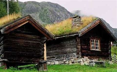 Green Roof Design  Small Cabins    Time