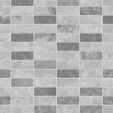 fine decor ceramica small tile effect wallpaper grey soft
