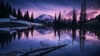 Nature Night Lake Reflection 1080p Wallpapers Laptop