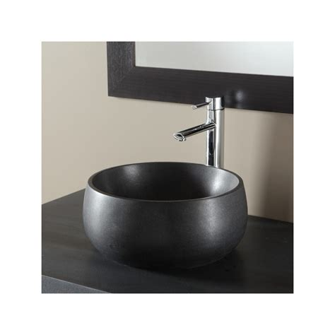 plan de toilette en noir design 611010