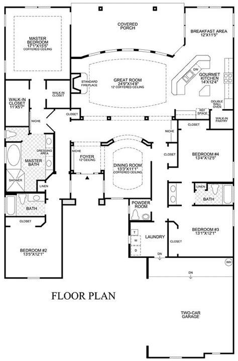 story open floor plan design ideas toll brothers