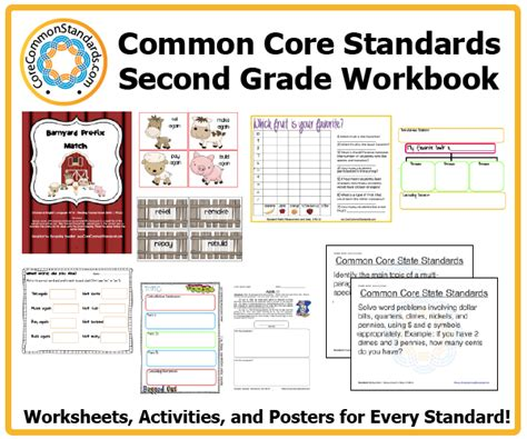 Second Grade Common Core Workbook Download
