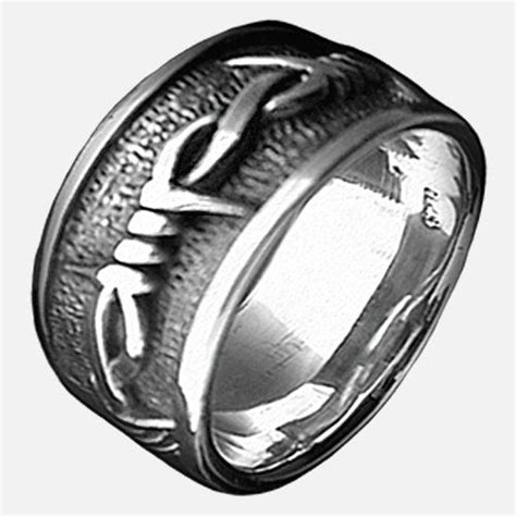 9 best put a ring it images pinterest wedding bands barbed wire and jewelery