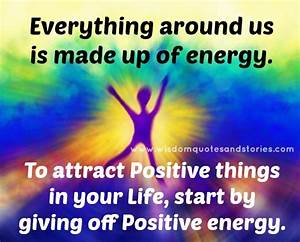 POSITIVE ENERGY Quotes Like Success