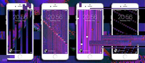 iphone screen glitching out glitch phone wallpapers johnny murphy design