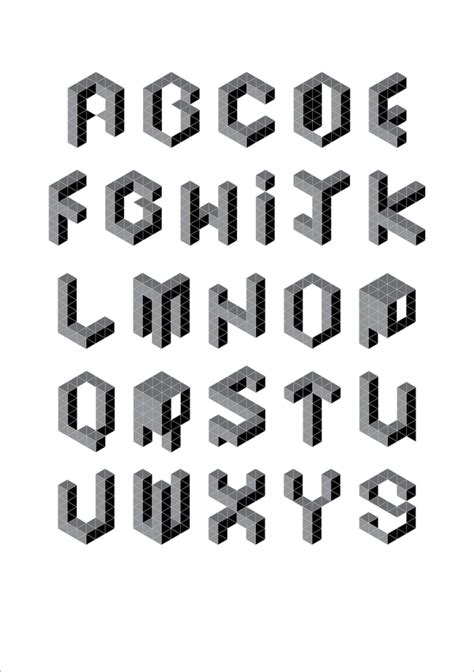 retired handout dimensional type exles art 132 typography