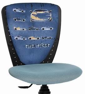 Bureau Enfant Garcon : chaise de bureau ergonomique pour enfant voiture ~ Teatrodelosmanantiales.com Idées de Décoration