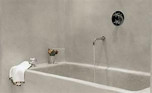Putz Für Badezimmer : statt fliese putz glas stein co b der in 2019 pinterest badewanne baden und bad ~ Watch28wear.com Haus und Dekorationen