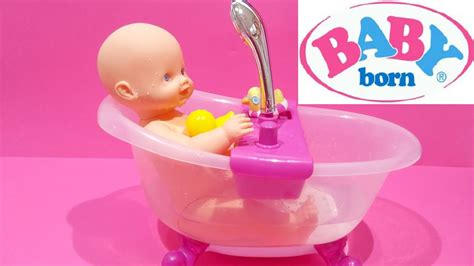 Baby Born Doll Lovely Doll Bath Tub Set Water Shower For