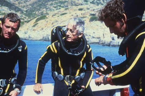 Jacques Cousteau Undersea Explorer Scuba Pioneer