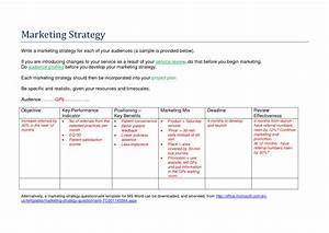 healthcare marketing plan template 28 images strategy With healthcare marketing plan template
