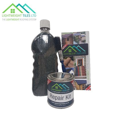 lightweight roof tile repair kit forest green roofing