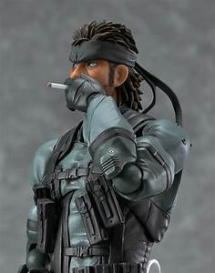 New Photos for Metal Gear Solid 2 Figma Solid Snake Figure ...