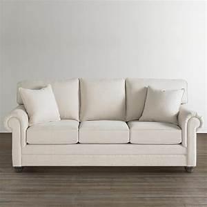 Large sofa custom upholstery bassett furniture for Sectional sofas bassett furniture