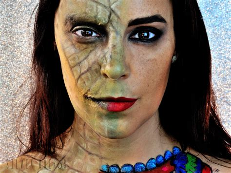 mythological goddesses cuatlicue special effects makeup