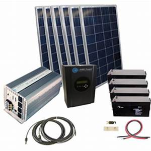 Complete Solar Kits & Inverter Charging Systems ...