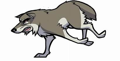 Wolf Cartoon Animated Wolves Clipart Animations Cartoons