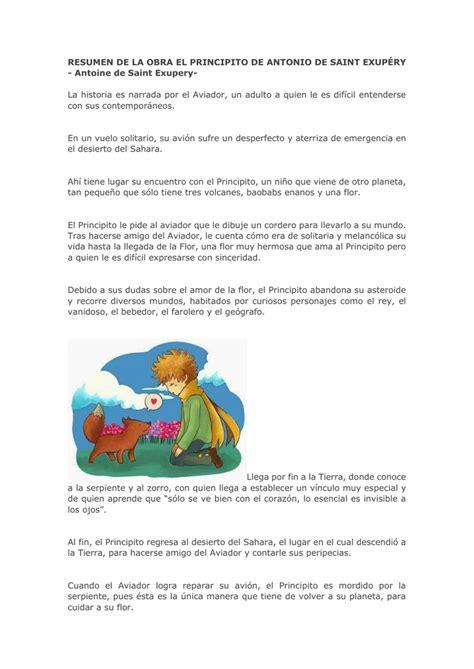 Libro el principito pdf epub. Resumen Del Principito Capitulo 4 | Libro Gratis