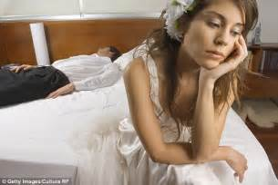 Did You Have Sex On Your Wedding Night Daily Mail Online