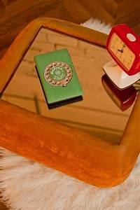Table Basse Miroir : table basse desserte miroir verre vintage r tro ~ Melissatoandfro.com Idées de Décoration