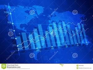 Stock Market Finance Diagram Stock Photography