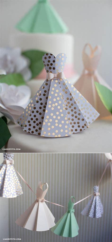 diy bridal shower crafts paper dress diy wedding decorations diy wedding